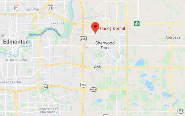 Map to Casey Clinic for your Dental Implants